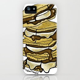 Stack of S'mores iPhone Case