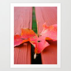 One for Fall Art Print
