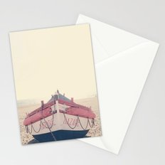 Nazare fishing boat Stationery Cards