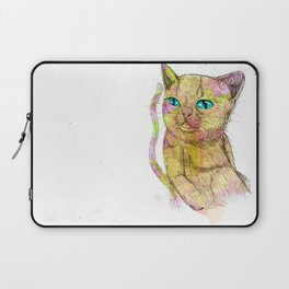 Coloured Cat Laptop Sleeve