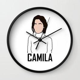 Camila Cabello Wall Clock