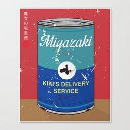 Kiki's delivery service - Miyazaki - Special Soup Series  Canvas Print