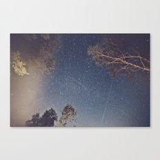 Smoke Burned Canvas Print