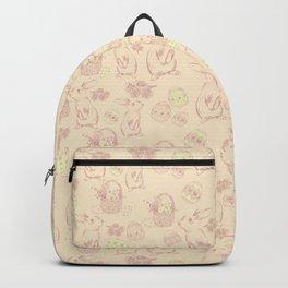 Vintage bunnies - Happy Easter Backpack