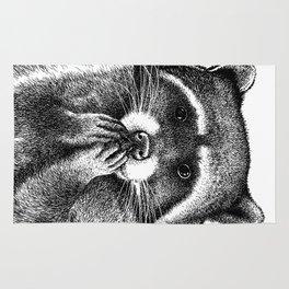 Hungry Raccoon Rug