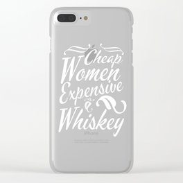 Great & Funny Expensive Tshirt Design Cheap women Clear iPhone Case