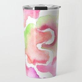 170527 Back to Basic Pastel Watercolour 18   Abstract Shapes Drawing   Abstract Shapes Art Travel Mug