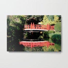 The red bridge Metal Print