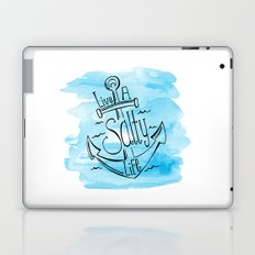 Live A Salty Life - Blue Laptop & iPad Skin