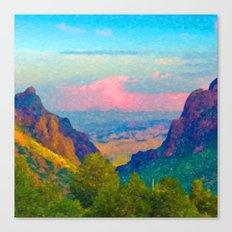 The Window at Big Bend National Park Canvas Print