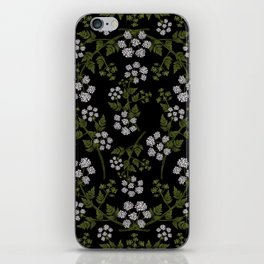 Hemlock Flower Pattern iPhone Skin