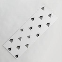 Arrows Collages Monochrome Pattern Yoga Mat