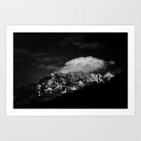 Black Mountains Four Art Print
