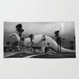 Dinosaur Park - Prehistoric California Beach Towel