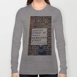 London street sign Long Sleeve T-shirt