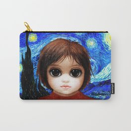 Big Eyes With Starry Night Carry-All Pouch