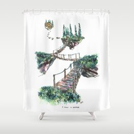 A Place To Breathe Shower Curtain