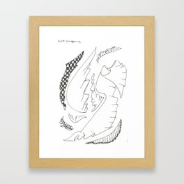 FABRIC_1 Framed Art Print