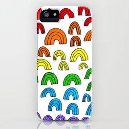 Rainbow Meta iPhone Case