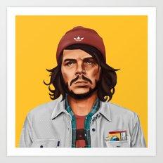 Hipstory - che guevara Art Print