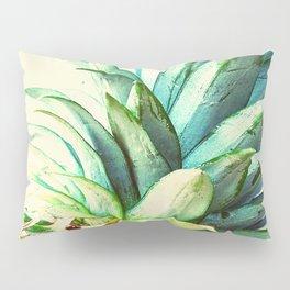 Green Pineapple Pillow Sham