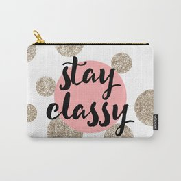 Stay Classy 01 Carry-All Pouch