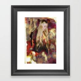 Brianna Framed Art Print