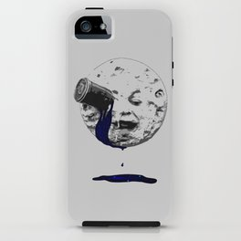a trip to the moon iPhone Case