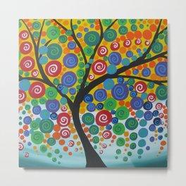 bright tree Metal Print