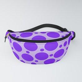 Pretty Polka Dots: Purple on Purple! Fanny Pack