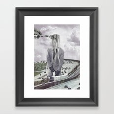 La nausée Framed Art Print