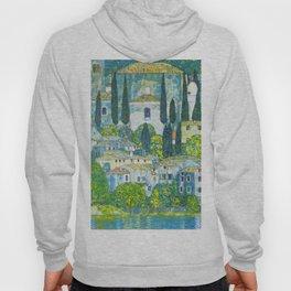"Gustav Klimt ""Church in Cassone"" Hoody"
