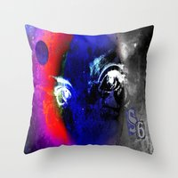universe Throw Pillows featuring universe by Laake-Photos