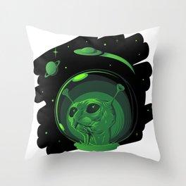 Promecatus Throw Pillow