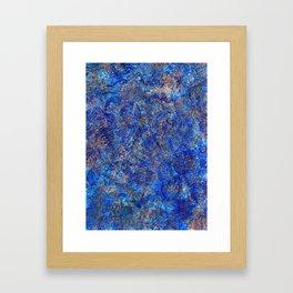 earth, shattered. Framed Art Print