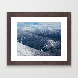 Franconia Ridge, NH Framed Art Print