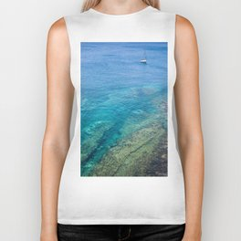 Lanzarote clear sea Biker Tank