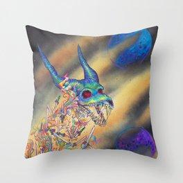 Dweller Throw Pillow
