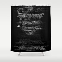 sia Shower Curtains featuring dressed in black by Ifanatic