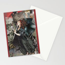 Modern Medusa Stationery Cards