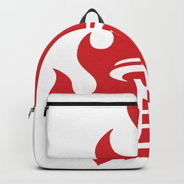 Seattle Riot | Flame Backpack