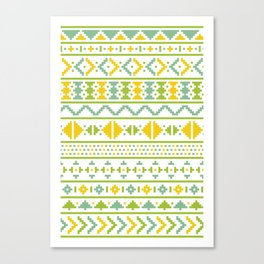 Christmas Jumper Pattern Canvas Print
