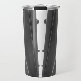 'Under the Freeway' Abstract Urban Photographic Print Travel Mug