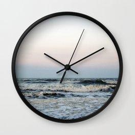Folly Beach, South Carolina Wall Clock