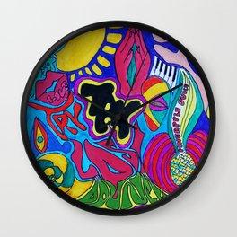 Zeigiest by Temi Daibo  Wall Clock