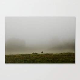 On top of it Canvas Print