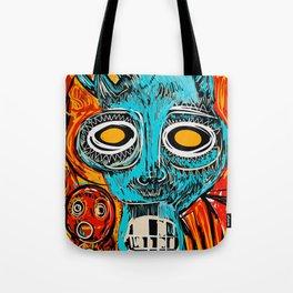 Blue Devil Tote Bag