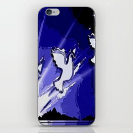 Fly, fly away. iPhone Skin