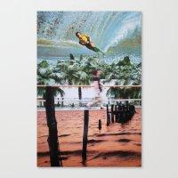 blur Canvas Prints featuring Blur by John Turck