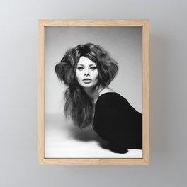 Sophia Loren Framed Mini Art Print